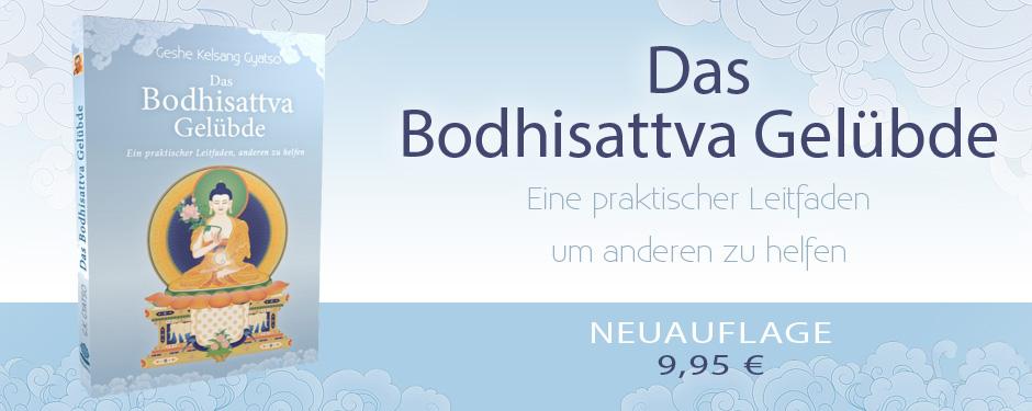Neuauflage des Buches Bodhisattva Gelübde