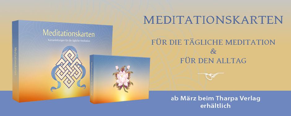 Meditationskarten Sets