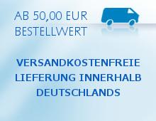 Versandkostenfrei in Deutschland ab 50€ Bestellwert