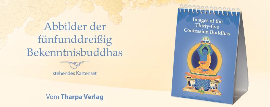 Abbildungen der fünfunddreißig Bekenntnisbuddhas