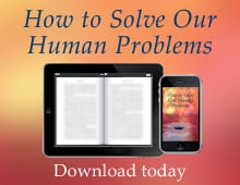 How to Solve Our Human Problems - eBook