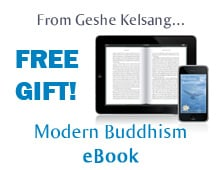 Modern Buddhism eBook - Free gift from Geshe Kelsang