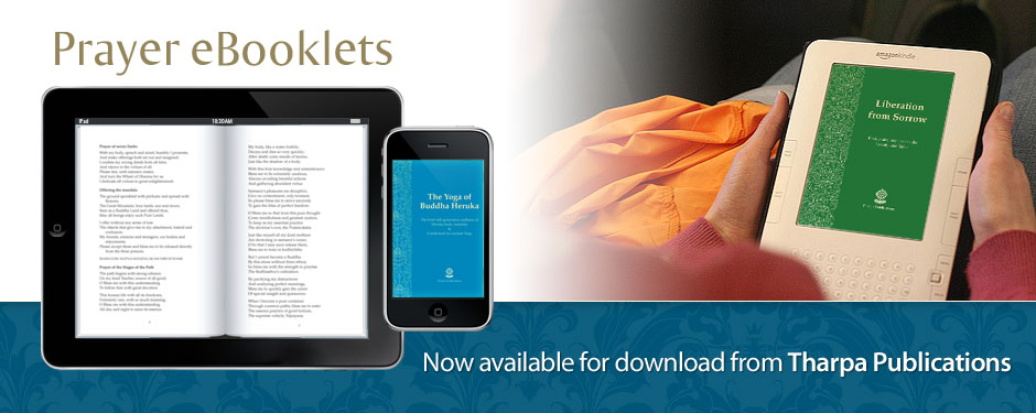 Buddhist Prayers available as eBooklets