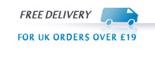 Free Delivery on all UK orders over £19