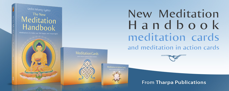 New Meditation Handbook, meditation cards and meditation in action cards